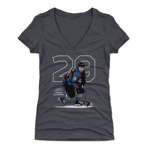 Nathan MacKinnon Women's V-Neck T-Shirt | 500 LEVEL