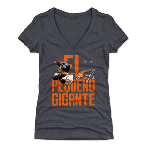Jose Altuve Women's V-Neck T-Shirt | 500 LEVEL