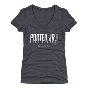 Michael Porter Jr. Women's V-Neck T-Shirt | 500 LEVEL