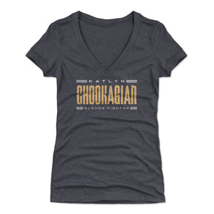 Katlyn Chookagian Women's V-Neck T-Shirt | 500 LEVEL
