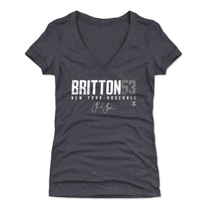 Zack Britton Women's V-Neck T-Shirt | 500 LEVEL