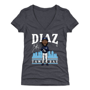 Yandy Diaz Women's V-Neck T-Shirt | 500 LEVEL