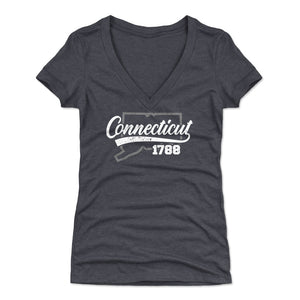 Connecticut Women's V-Neck T-Shirt | 500 LEVEL