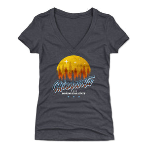 Minnesota Women's V-Neck T-Shirt | 500 LEVEL