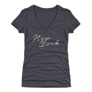 New York Women's V-Neck T-Shirt | 500 LEVEL