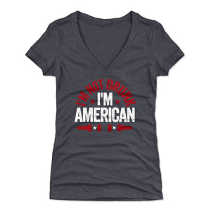 American Pride Women's V-Neck T-Shirt | 500 LEVEL
