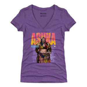 Asuka Women's V-Neck T-Shirt | 500 LEVEL