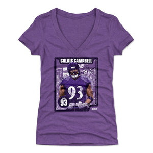 Calais Campbell Women's V-Neck T-Shirt | 500 LEVEL