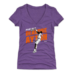 DeAndre Ayton Women's V-Neck T-Shirt | 500 LEVEL