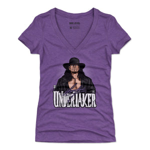 Undertaker Women's V-Neck T-Shirt | 500 LEVEL