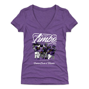 Dalvin Cook Women's V-Neck T-Shirt | 500 LEVEL