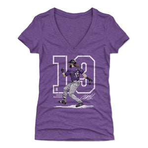 Charlie Blackmon Women's V-Neck T-Shirt | 500 LEVEL