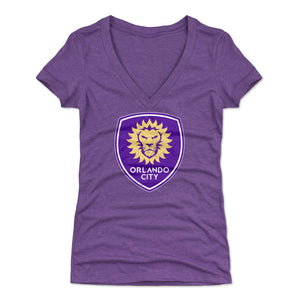 Orlando City SC Women's V-Neck T-Shirt | 500 LEVEL