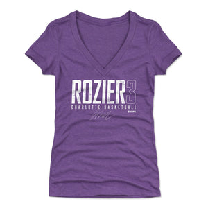 Terry Rozier Women's V-Neck T-Shirt | 500 LEVEL