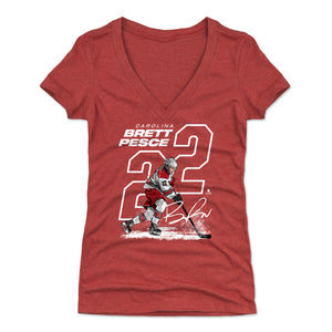 Brett Pesce Women's V-Neck T-Shirt | 500 LEVEL