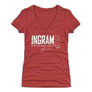 Brandon Ingram Women's V-Neck T-Shirt | 500 LEVEL