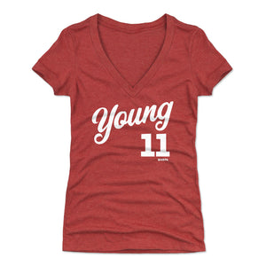 Trae Young Women's V-Neck T-Shirt | 500 LEVEL