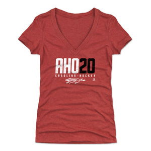 Sebastian Aho Women's V-Neck T-Shirt | 500 LEVEL