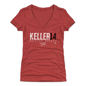 Clayton Keller Women's V-Neck T-Shirt | 500 LEVEL