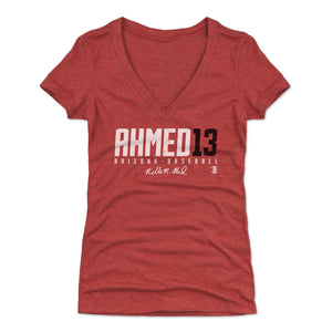 Nick Ahmed Women's V-Neck T-Shirt | 500 LEVEL