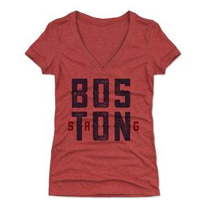 Boston Women's V-Neck T-Shirt | 500 LEVEL