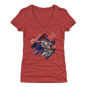 Jack Flaherty Women's V-Neck T-Shirt | 500 LEVEL