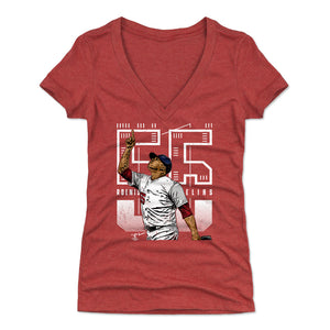Roenis Elias Women's V-Neck T-Shirt | 500 LEVEL