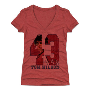 Tom Wilson Women's V-Neck T-Shirt | 500 LEVEL