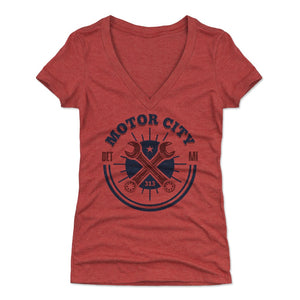 Detroit Women's V-Neck T-Shirt | 500 LEVEL