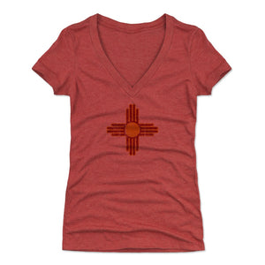 New Mexico Women's V-Neck T-Shirt | 500 LEVEL
