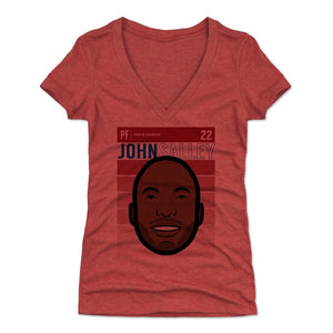 John Salley Women's V-Neck T-Shirt | 500 LEVEL