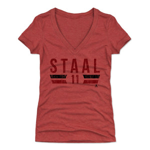Jordan Staal Women's V-Neck T-Shirt | 500 LEVEL