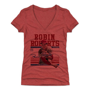 Robin Roberts Women's V-Neck T-Shirt | 500 LEVEL