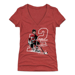 Alex DeBrincat Women's V-Neck T-Shirt | 500 LEVEL