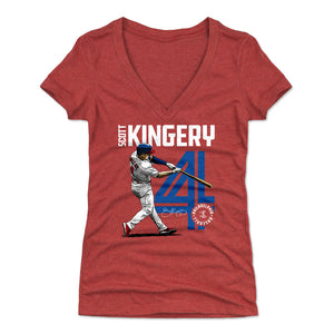 Scott Kingery Women's V-Neck T-Shirt | 500 LEVEL