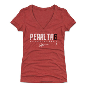 David Peralta Women's V-Neck T-Shirt | 500 LEVEL