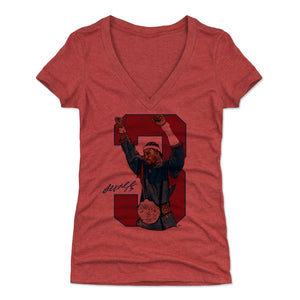 Ben Wallace Women's V-Neck T-Shirt | 500 LEVEL