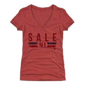 Chris Sale Women's V-Neck T-Shirt | 500 LEVEL