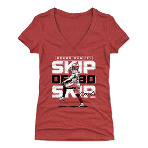 Deebo Samuel Women's V-Neck T-Shirt | 500 LEVEL