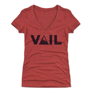 Vail Women's V-Neck T-Shirt | 500 LEVEL