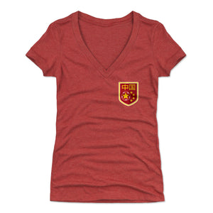 China Women's V-Neck T-Shirt | 500 LEVEL