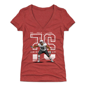 Isaiah Wynn Women's V-Neck T-Shirt | 500 LEVEL