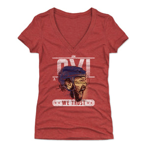 Alex Ovechkin Women's V-Neck T-Shirt | 500 LEVEL