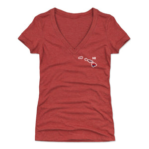 Hawaii Women's V-Neck T-Shirt | 500 LEVEL