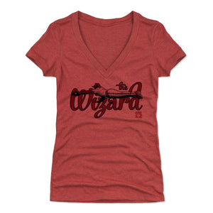 Ozzie Smith Women's V-Neck T-Shirt | 500 LEVEL
