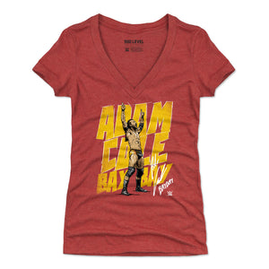 Adam Cole Women's V-Neck T-Shirt | 500 LEVEL