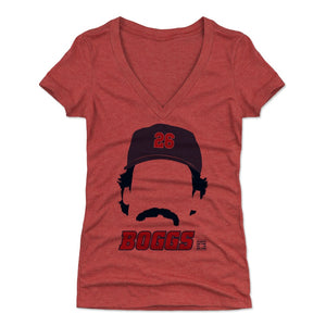 Wade Boggs Women's V-Neck T-Shirt | 500 LEVEL