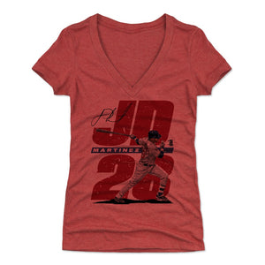 J.D. Martinez Women's V-Neck T-Shirt | 500 LEVEL