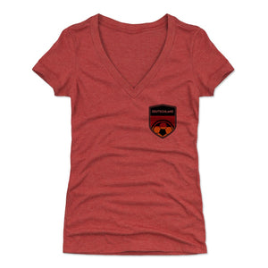 Germany Women's V-Neck T-Shirt | 500 LEVEL