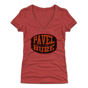 Pavel Bure Women's V-Neck T-Shirt | 500 LEVEL
